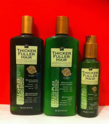 CELL-U-PLEX THICKER FULLER HAIR PURE PLANT EXTRACTS PRODUCT